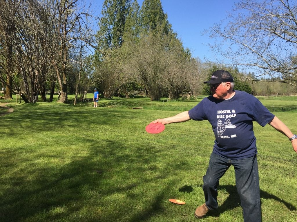 Elma Disc Golf - Jay Klemp Golfing