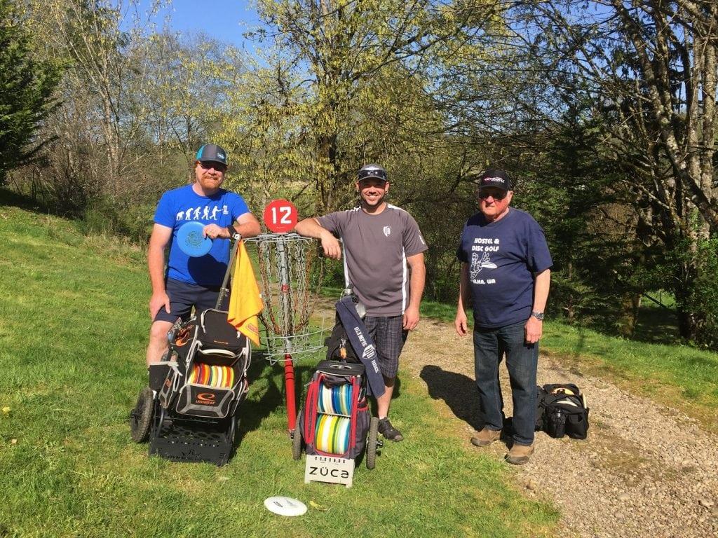 Elma Disc Golf - Steve Michael and Jay