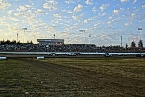 Grays Harbor Raceway Track and Fans
