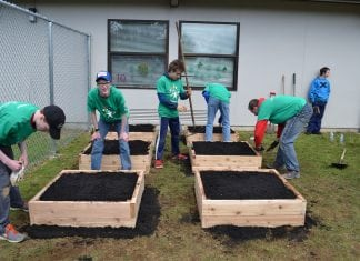 Comcast Cares Day Scout Troop