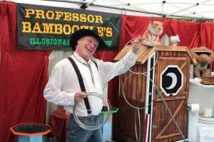 Grays Harbor County Fair Professor Bamboozle