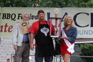 Lacey BBQ Chris Lester Trophy