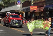 McCleary Bear Festival-parade