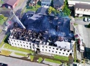 Aberdeen Museum Fire