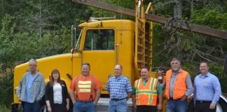 Key Players in New Log Truck Driving Program