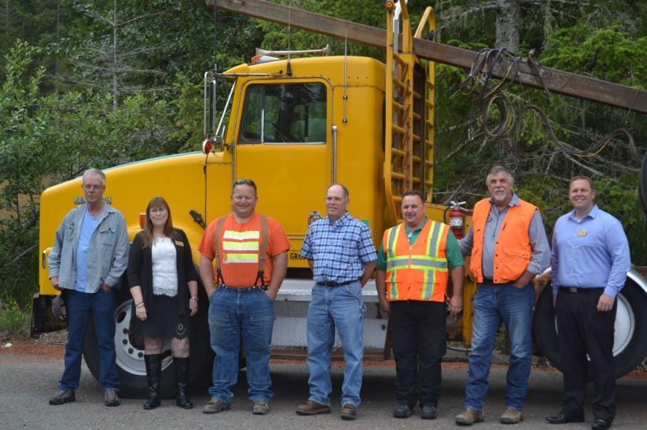 Key Players in New Log Truck Driving Program