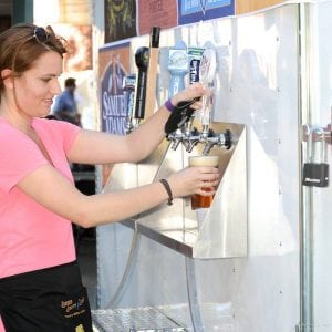 Brats Brews and Bands 2018 Beer on Tap