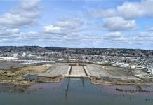 Port of Grays Harbor WSDOT Pontoon Construction Site
