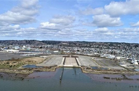 Port of Grays Harbor WSDOT Pontoon Construction Site