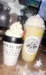 South Bay Coffee drinks