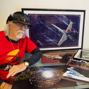 Star Wars Ship Creator Showing Rare Footage (free to attend) @ Sucher and Son Star Wars Shop | Aberdeen | Washington | United States