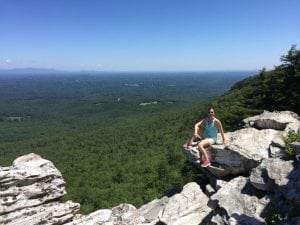 Dr. Borders at Hanging Rock