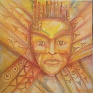 Capoeman Painting
