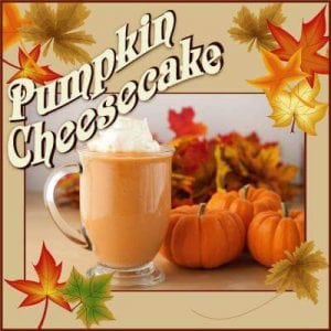 Grays Harbor Pumpkin Spice Coffeeman Espresso pumpkin cheesecake