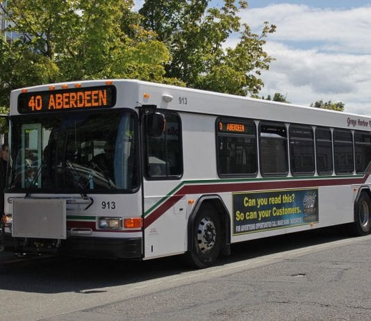 Grays Harbor Transit Bus