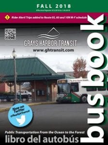 Grays Harbor Transit Fall 2018 Bus Book