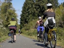 Yelm Tenino Trail Biking Path