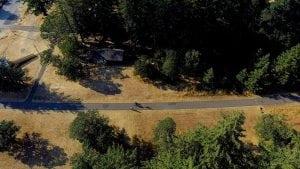 Yelm Tenino Trail Overhead