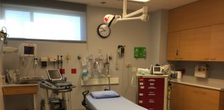 Grays Harbor Community Hospital Level 3 Trauma Center ER room