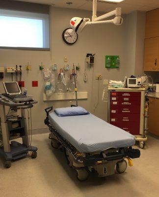 Grays Harbor Community Hospital Level 3 Trauma Center ER room