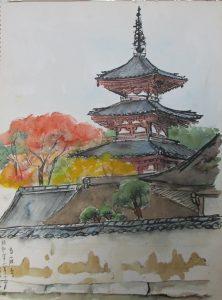 Mariko Maita National Treasure Temple