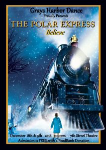 The Polar Express. Grays Harbor Dance Recital @ The 7th Street Theatre | Hoquiam | Washington | United States