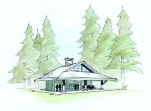 FOSLS pavilion drawing