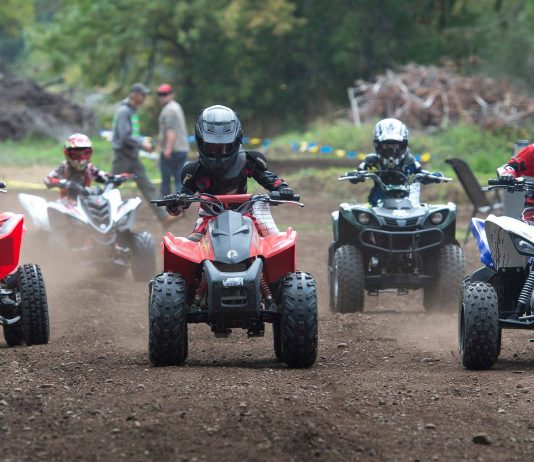 ghorv kids on quads