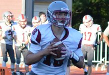 Hoquiam senior quarterback Payton Quintanilla