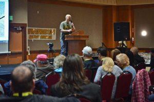 sasquatch summit johnny manson at podium