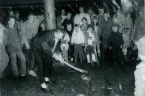 Yule Log 1960s