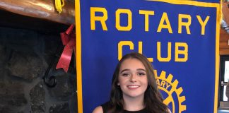 Aberdeen Rotary Studen of the month Camryn Cook