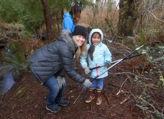 Grays Harbor Stream Team Alder Creek Clean Up 2018