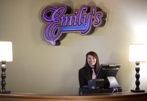 Quinault Beach Resort and Casino emilys restaurant girl smiling