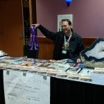 Quinault Beach Resort and Casino ufo summit vendor smiling