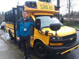 Sound to Harbor ESD 113 Bus Driver Training Instructor Roger Lange