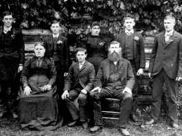 John Turnow and Family around 1895