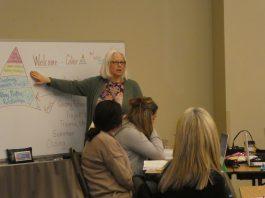 Instructor Debi Manning-Beagle