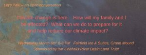 Let's Talk -- Climate Change @ Fairfield Inn and Suites