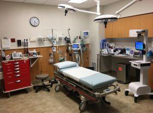 summit pacific trauma room