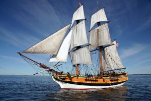 Aberdeen Lady Washington at sea