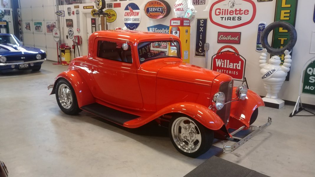 Quinault Beach Resort Casino high rollin hot rods orange car