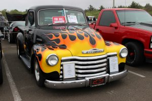 Quinault Beach Resort Casino high rollin hot rods truck with flames