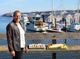 bayview catering spring 2019 kelly on dock