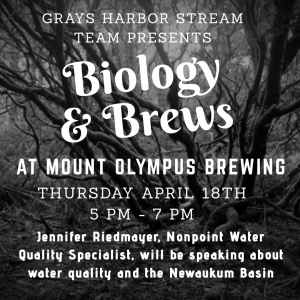 Biology and Brews @ Mount Olympus Brewing