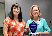 Grays Harbor Community Hospital CNO recieves hospital administrator award