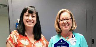 Grays Harbor Community Hospital CNO recieves hospital administrator award