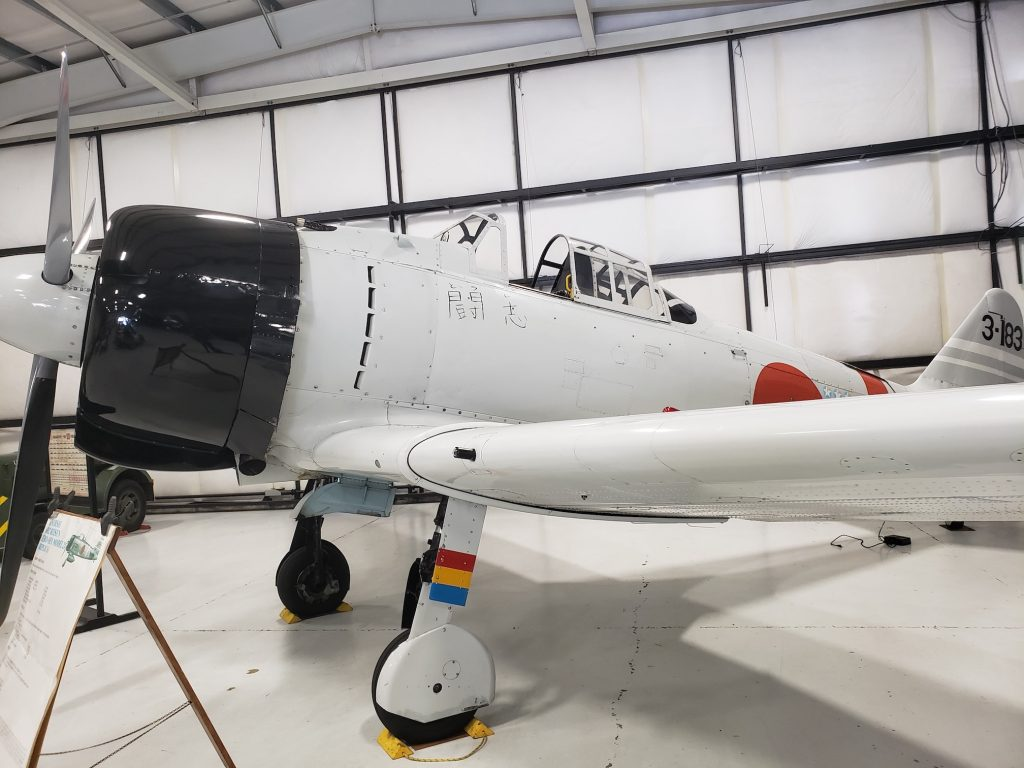 Olympic Air Show Mitsubishi A6M Zero