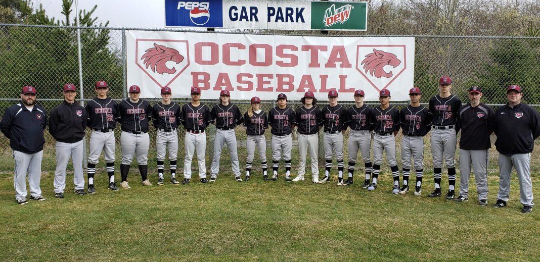 Ocosta High School Baseball Team