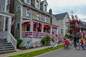 Grays Habor 4th of July Seabrook Porch Illumination Ceremony